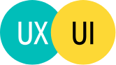 Colorful UX/UI logo