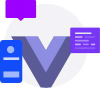 Picture of Vue.js development